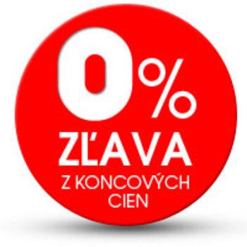 0% zľava z koncových cien