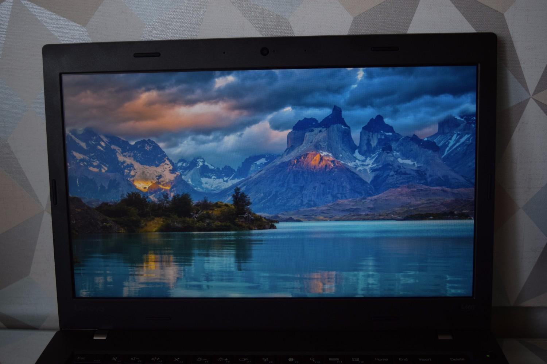 Lenovo ThinkPad L460 - pohľad na displej