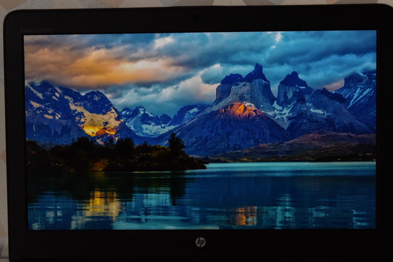 HP ZBook 15 G4 - pohľad na displej (ostrov)